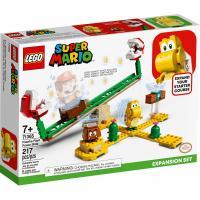 Конструктор LEGO Super Mario Мощная атака Растения-пираньи Фото