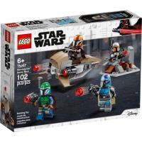 Конструктор LEGO Star Wars Боевой набор: мандалорцы 102 детали Фото