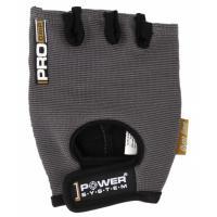 Перчатки для фитнеса Power System Pro Grip PS-2250 M Grey Фото
