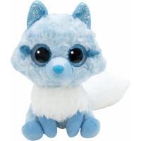 М'яка іграшка Aurora Yoo Нoo Арктическая лиса сияющие глаза 20 см Фото