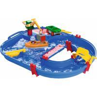 Игровой набор AquaPlay Строительство с краном, машинкой, лодкой и фигурко Фото