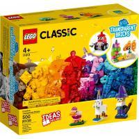 Конструктор LEGO Classic Прозрачные кубики для творчества 500 детал Фото