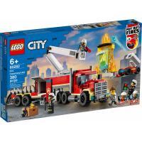 Конструктор LEGO City Fire Пожарный командный пункт 380 деталей Фото