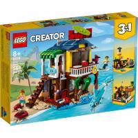 Конструктор LEGO Creator Пляжный домик серферов 564 детали Фото