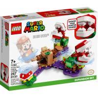 Конструктор LEGO Super Mario Головоломка с растением-пираньей. Допо Фото
