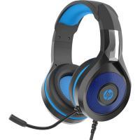 Навушники HP DHE-8010 Gaming Blue LED Black Фото