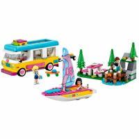 Конструктор LEGO Friends Лесной дом на колесах и парусная лодка Фото