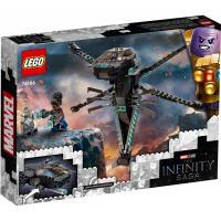 Конструктор LEGO Super Heroes Корабль Чёрной Пантеры Дракон 202 дет Фото