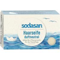 Шампунь Sodasan органический твердый для чувствительной кожи голов Фото