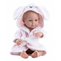 Пупс Paola Reina в розовом халате Фото