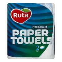 Паперові рушники Ruta Premium 2 слоя 2 шт. Фото