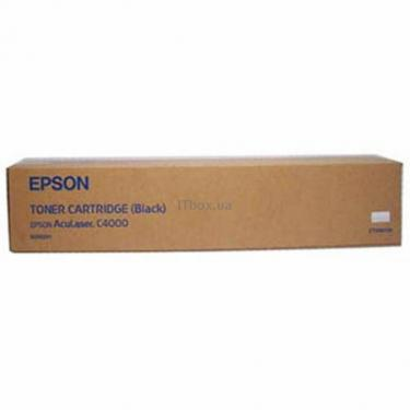 Картридж EPSON AcuLaser C4000 black (C13S050091) - фото 1