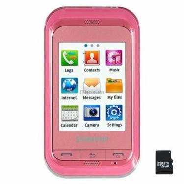Мобильный телефон GT-C3300i (Champ) Sweet Pink Samsung (GT-C3300SII) - фото 1