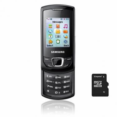 Мобильный телефон Samsung GT-E2550 (Monte Slide) Strong Black Фото