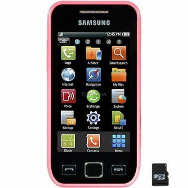 Мобильный телефон GT-S5250 (Wave525) Romantic Pink Samsung (GT-S5250TIJ) - фото 1