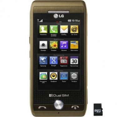 Мобільний телефон GX500 Brown LG (GX500 BR) - фото 1
