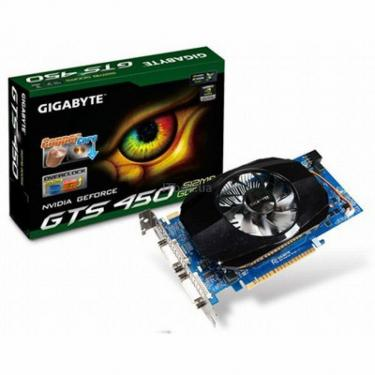 Відеокарта GeForce GTS450 512Mb GIGABYTE (GV-N450-512I) - фото 1