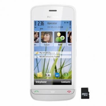 Мобильный телефон C5-03 White Alum Grey Nokia (002V996) - фото 1