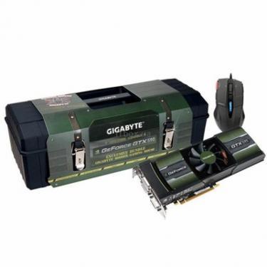 Відеокарта GeForce GTX590 3072Mb Gigabyte (GV-N590D5-3GD-B) - фото 1