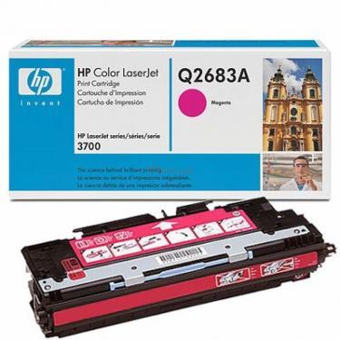 Картридж HP CLJ 3700 magenta (Q2683A) - фото 1