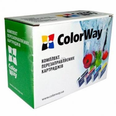 Комплект перезаправляемых картриджей Colorway Epson T40W/TX200/300/400 (4х100мл) (T40RC-4.1) - фото 1