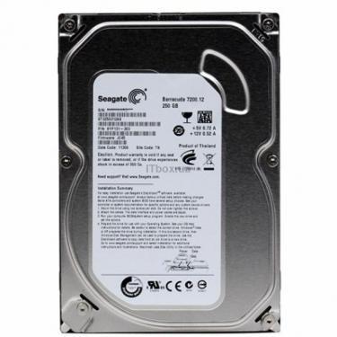 "Жорсткий диск 3.5"" 250Gb Seagate (ST3250312AS) - фото 1"