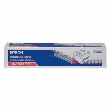 Картридж EPSON AcuLaser C4200DN magenta (C13S050243) - фото 1