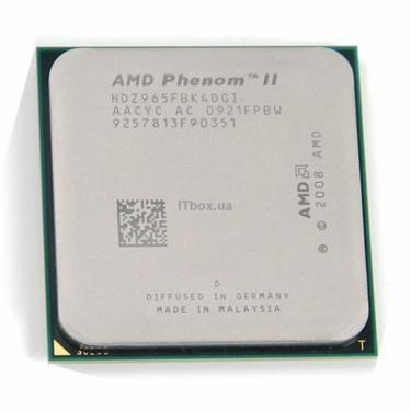 Процессор AMD Phenom™ II X4 965 Фото
