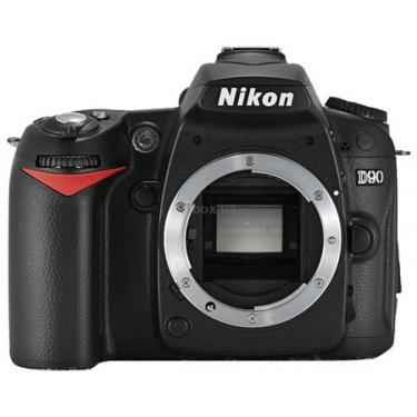 Цифровий фотоапарат D90 body Nikon (VBA230AE) - фото 1