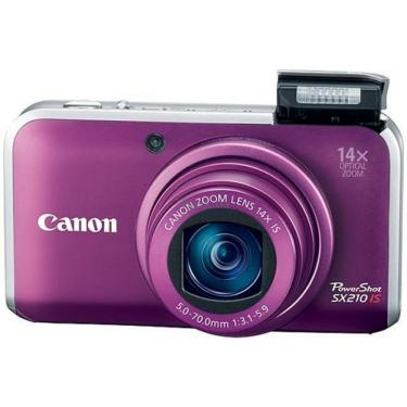 Цифровой фотоаппарат PowerShot SX210 is purple Canon (4247B002/4247B023) - фото 1