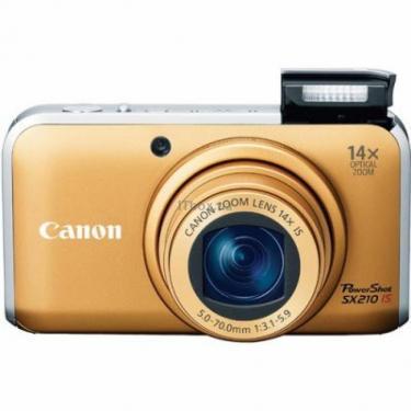 Цифровий фотоапарат PowerShot SX210 is gold Canon (4245B002/4245B023) - фото 1