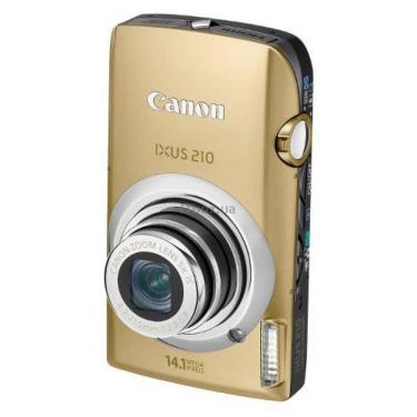 Цифровий фотоапарат IXUS 210is gold Canon (4199B001) - фото 1
