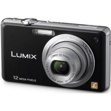 Цифровий фотоапарат Lumix DMC-FS10EE-K black PANASONIC (DMC-FS10EE-K) - фото 1