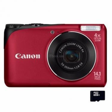Цифровий фотоапарат PowerShot A2200 red Canon (# 4944B012/4944B016) - фото 1
