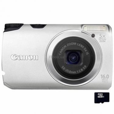 Цифровой фотоаппарат Canon PowerShot A3300is silver Фото