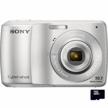 Цифровой фотоаппарат Cybershot DSC-S3000 silver SONY (DSCS3000S.CEE2) - фото 1