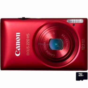 Цифровой фотоаппарат IXUS 220 HS red Canon (5100B013/5100B023) - фото 1