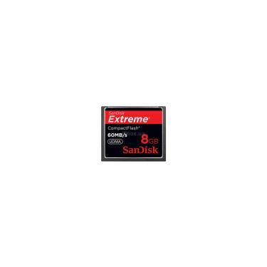 Карта памяти SANDISK 8Gb Compact Flash eXtreme (SDCFX-008G-X46) - фото 1