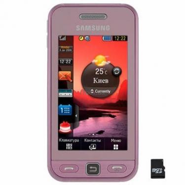 Мобильный телефон GT-S5230 (Star) Soft Pink Samsung (GT-S5230DIA) - фото 1