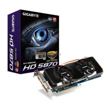 Відеокарта Radeon HD 5870 1024Mb OverClock Gigabyte (GV-R587OC-1GD) - фото 1