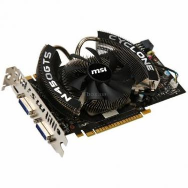Відеокарта MSI GeForce GTS450 1024Mb Cyclone (N450GTS Cyclone 1GD5/OC) - фото 1