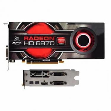 Відеокарта Radeon HD 6870 1024Mb XFX (HD-687A-ZNFC) - фото 1