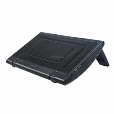 Подставка для ноутбука Deepcool WINDWHEEL FS BLACK - фото 1