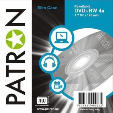 Диск DVD Patron 4.7Gb 4x Slim box 10шт (INS-D027) - фото 1