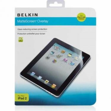 Плівка захисна Belkin Apple iPad 2 Screen Overlay MATTE (F8N617eb2/F8N617cw) - фото 1