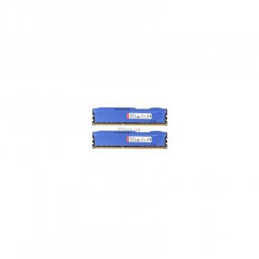 Модуль памяти для компьютера DDR3 8Gb (2x4GB) 1600 MHz HyperX Fury Blu HyperX (Kingston Fury) (HX316C10FK2/8) - фото 4