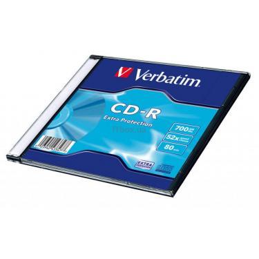 Диск CD Verbatim 700Mb 52x Slim case 200шт Non-AZO (43347) - фото 2