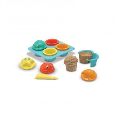 Игровой набор Melissa&Doug Песочные формы для кексиков Фото 1