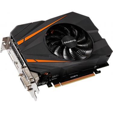 Відеокарта Gigabyte GeForce GTX1070 8192Mb Mini ITX OC (GV-N1070IXOC-8GD) - фото 3
