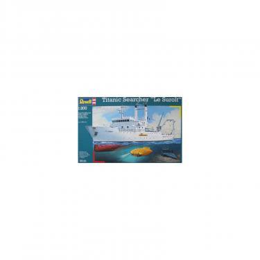 Сборная модель Revell Пароход-люксTitanic Searcher Le Suroit 1:200 Фото